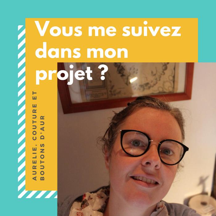 crealOuest soutient le projet d'Aurélie, Couture et Boutons d'Aur