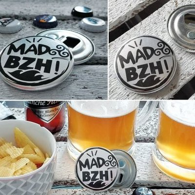 MAD BZH MAGNET DECAPSULEUR