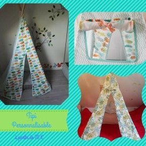 tipi personnalisable chas inspire
