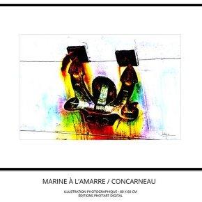 Marine Présentation Tableau illustration Photo 80x60 Jacky a De l Ancre à l (...)