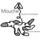 Mouche, Art du métal