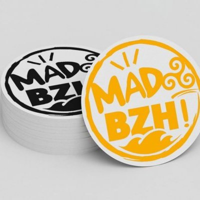 MAD BZH STICKERS