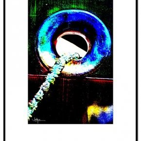 Marine Présentation Tableau illustration Photo 60x80 Jacky a Abeille (...)