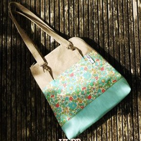 sac à dos liberty poppy's meadow turquoise